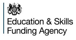 ESFA Logo
